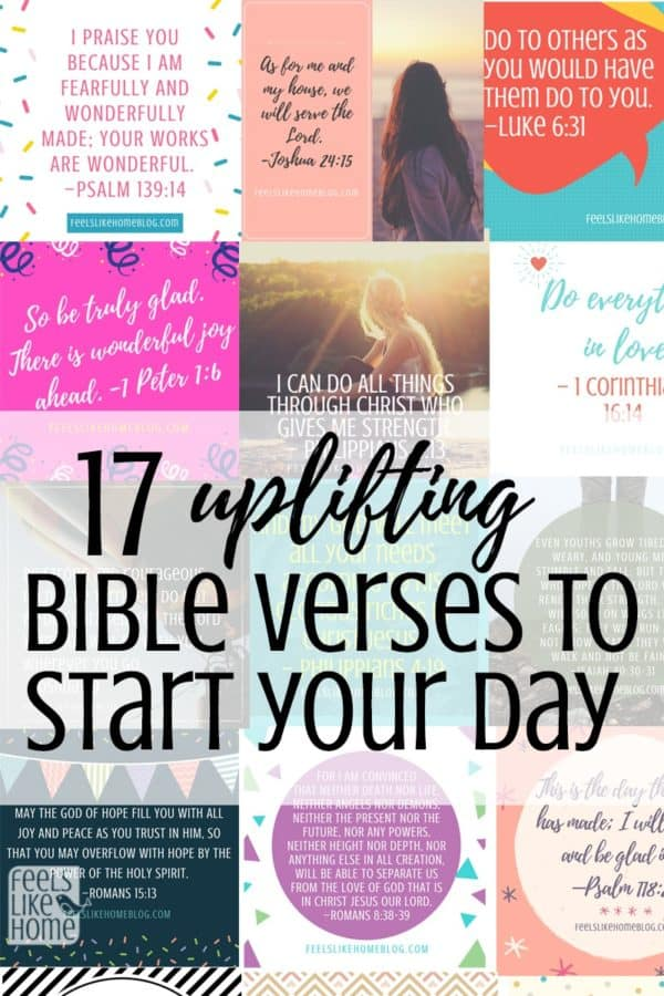 photograph relating to Printable Scriptures called 17 Serving to Bible Verses in the direction of Get started Your Working day - No cost