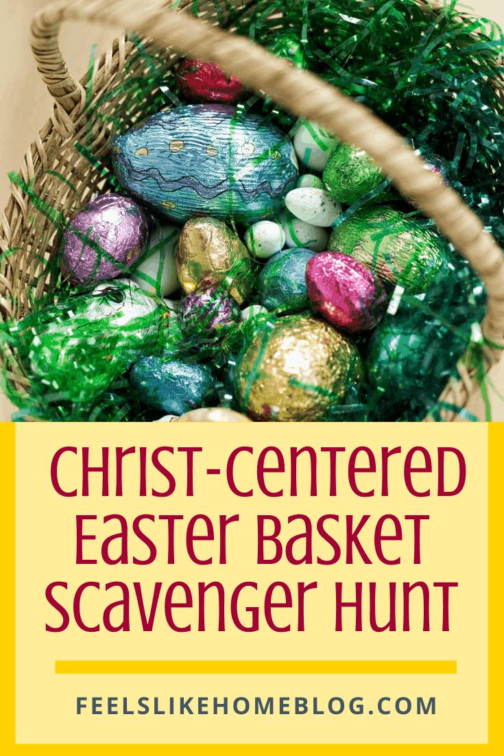 Free Printable Christ-Centered Easter Basket Scavenger Hunt