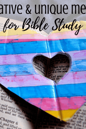 13 creative & unique ways to study the bible - how to for beginners including kids (boys and girls), teens, young adults, men, and women. Great for spiritual growth and understanding of the Good Book. Includes ideas for notebooks and journals as well as the SOAP method, Bible journaling, and others. Simple, awesome, and fun tips for learning to get started studying scriptures.