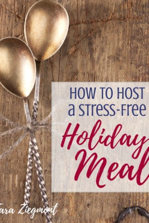 How to host a stress free holiday meal - How to make hosting thanksgiving easy - Whether you're entertaining for the first time or tenth, you will find lots of good advice and practical tips in this article including ideas for dinner menu items, shopping list, and make ahead preparation. Tips and a checklist for a simple family celebration with kids. Great for a crowd of friends including products you need, recipes to make, and a special method for roasting the turkey.
