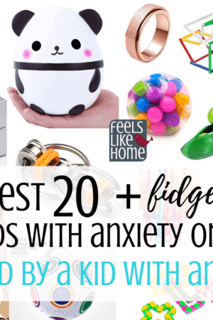 The best fidget toys for kids or teens with ADHD or anxiety - These calming toys are good for children and adults at home or in the classroom at school. Most are quiet, silent even, so they can be used in preschool or any situation. Great way to calm down.