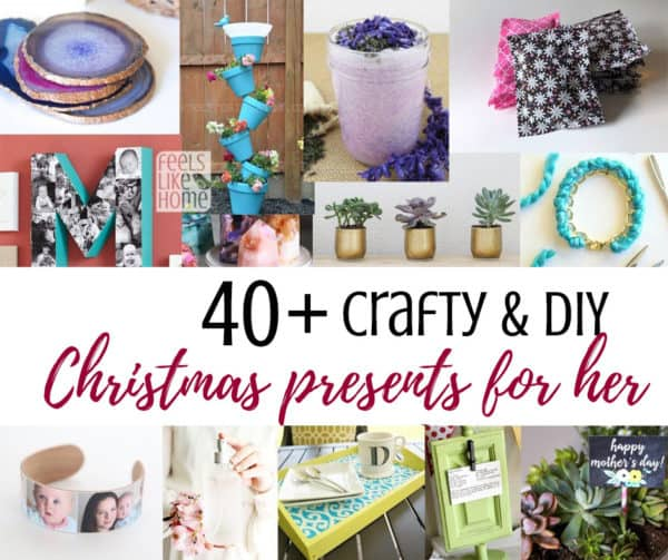 Christmas Presents For Women.40 Easy Handmade Diy Christmas Gifts For Moms Other Women
