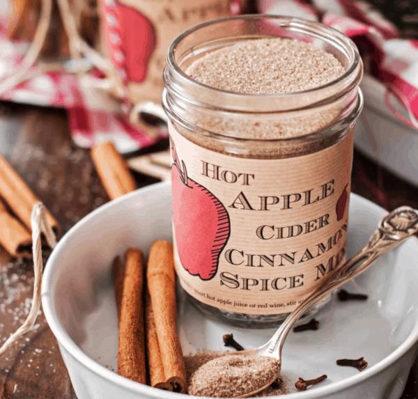 homemade hot apple cider spice mix