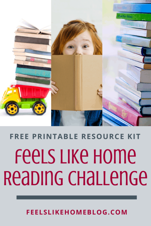 Free reading challenge for adults - Great list of book ideas and tips for reading more. Includes free printable chart and bookmarks. Perfect for a month or for 52 weeks of the year.
