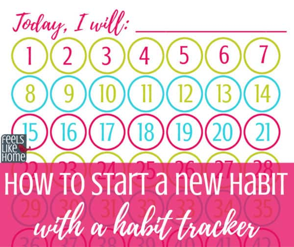 photo relating to Habit Tracker Printable Free titled How toward Start out a Fresh Pattern (and a Absolutely free Printable Pattern Tracker