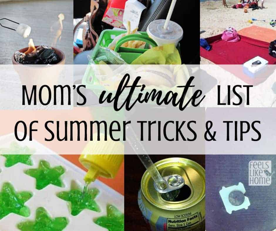 These genius summer tips and hacks are perfect for adults and kids, men, women, girls, and boys. Ideas for popsicles, s'mores, beach, drinks, and more. Awesome tricks for parents including mom!