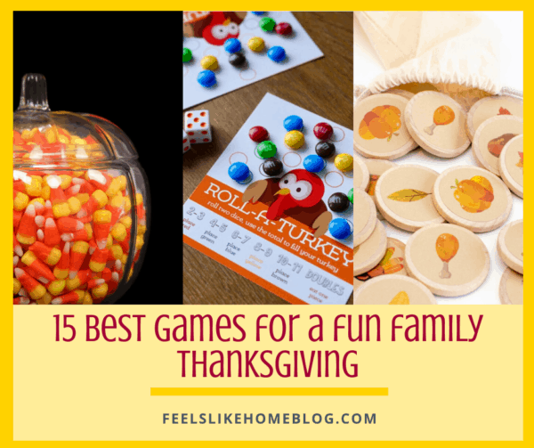 15 Best Party Games for Thanksgiving - After dinner, you need some fun activities to keep the family occupied and having an awesome time. These fun activities and games are great for kids, adults, and whole families.