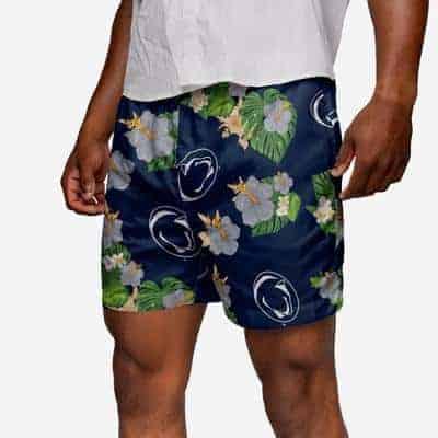 Penn State swimming trunks