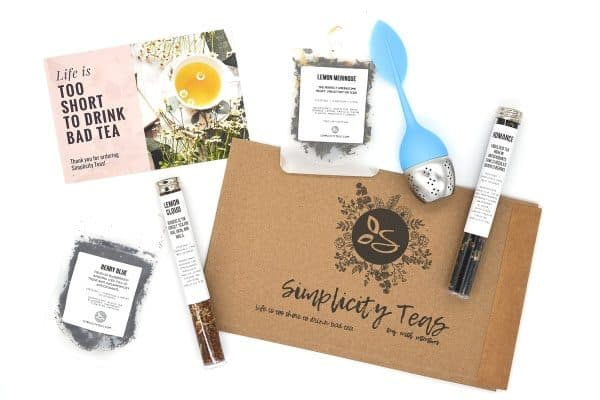 simplicity tea best Christmas gift ideas for moms