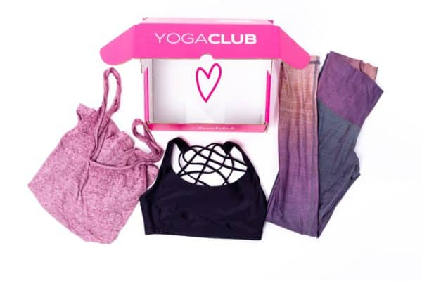 yogaclub subscription box best Christmas gift ideas for women