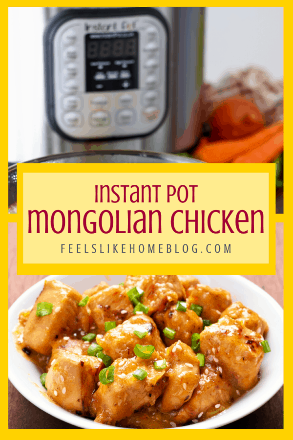 How to make the best simple and easy Mongolian chicken in the Instant Pot - This healthy dinner recipe is whole 30, paleo, keto, and low carb and has an authentic spicy sauce. Can be made in the Instapot with rice. Gluten-free.