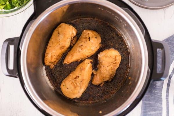 Garlic chicken in the Instapot