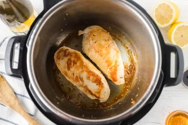Chicken breasts in the Instapot