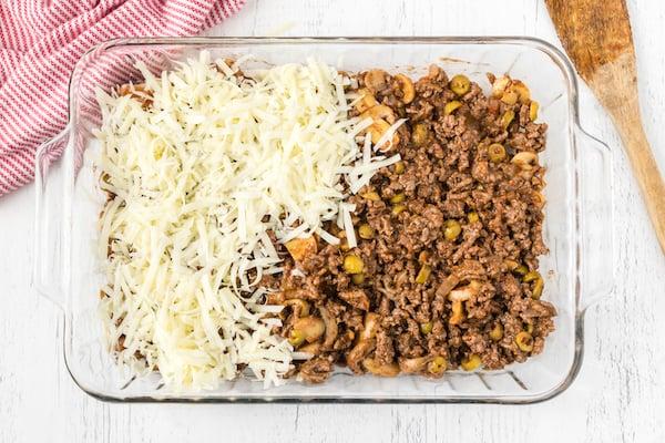 add mozzarella cheese to popover pizza filling
