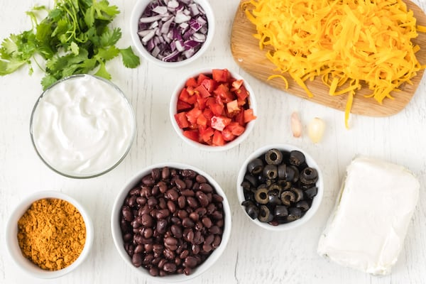 taco dip ingredients