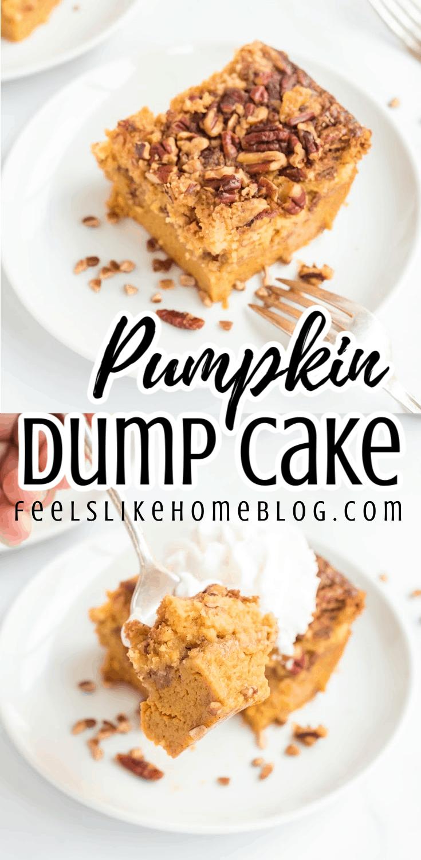 How to Make the Best Pumpkin Dump Cake